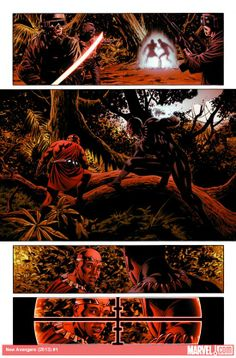 The Black Panther needs help in these Marvel NOW! preview pages from Steve Epting!    More on Marvel.com: http://marvel.com/news/story/19767/first_look_new_avengers_1#ixzz2E0h4J7Iq