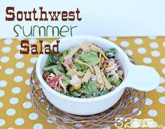 Southwest Summer Salad Recipe...looks delicious!