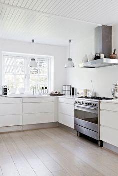 interior design kitchen, decorating kitchen, floors, kitchen interior, kitchen cupboards, hous, modern kitchens, white cabinets, white kitchens