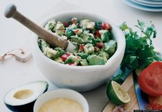 Cheese-Topped Guacamole