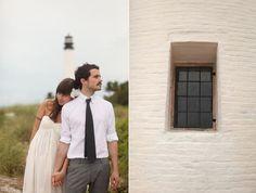A Lighthouse Wedding. So cute!