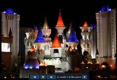 Las Vegas......Excalibur - This is where me and my hubby were married nearly 11 years ago!
