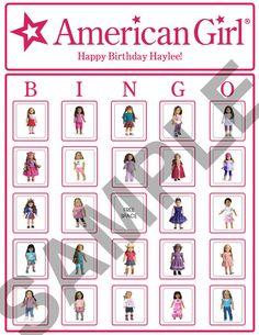 girls birthday parties, birthday party games, ag parti, american girl birthday
