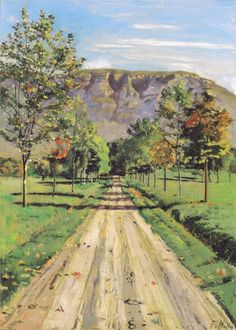 The road to a particular interest, 1890  Ferdinand Hodler