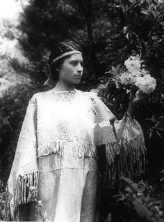 Cherokee Indian Girl