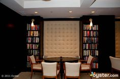 The Reading Room at the Library Hotel