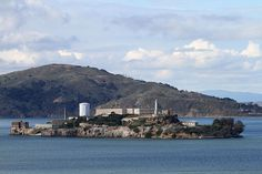 Alcatraz Island is an island located in the San Francisco Bay,