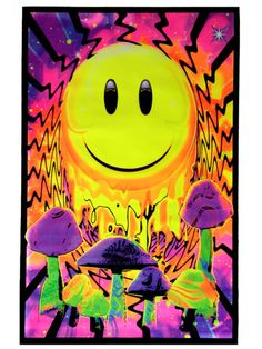 Psychedelic poster <3 via | Hippies Hope Shop www.hippieshope.com