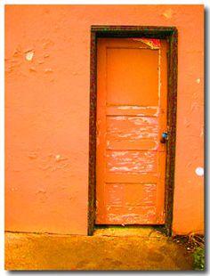 california door.