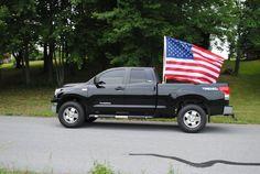 fire truck flag mount