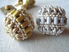 * Rulla ball with twin beads. Very unusual.