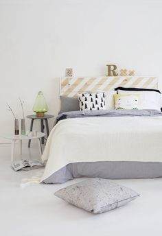 bedroom styling..