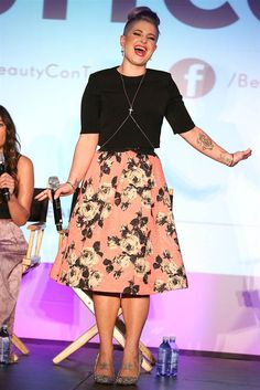 Kelly Osbourne attends the 3rd Annual BeautyCon Summit presented by ELLE Magazine at LA Mart in Los Angeles, on Aug. 16, 2014