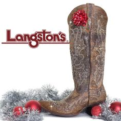 Enter to Win A Pair of Johnny Ringo Sagrada Snip Toe Women's Boots from Langstons.com!/