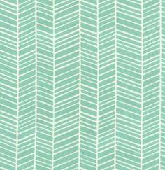 ponds, modern meadow, joel dewberri, fabric pattern, joeldewberri, mint, color patterns, print pattern, herringbone