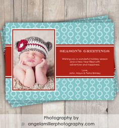 Holiday card options