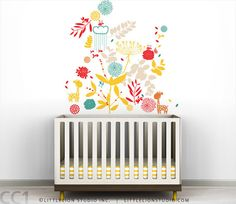 Nursery Wall Decal - Great colors!!