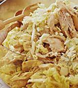 Rachel Ray's Millionaire Rotisserie Chicken Salad. So yummy!