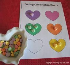 Conversation Hearts Sorting