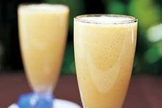 Ginger Peach Smoothies Recipe