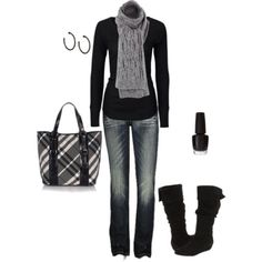 emmi style, fashion, purs, black outfits, perfect winter