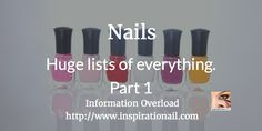 Nails – Information