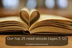 Our top 25 read-alouds (ages 5-12)