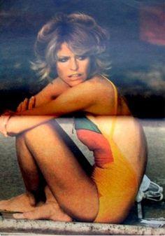 Farrah Fawcett Magazine TV Superstar Photo Album 1977 Rare Charlie's Angels Girl | eBay