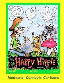 The Happy Hippie - Georgia Toons cartoonist