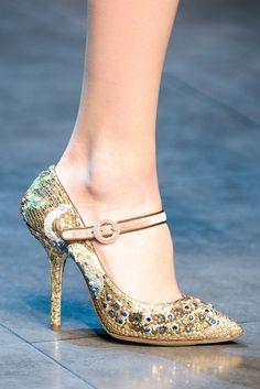 Shoe Porn at Dolce  Gabbana Fall Winter 2013 | MFW