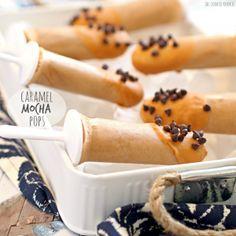 Caramel Mocha Pops - The Cookie Rookie