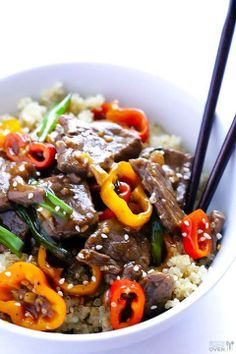 Easy Pepper Steak