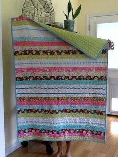 Oh So Quick jelly Roll Quilt