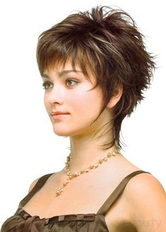 short hair style for