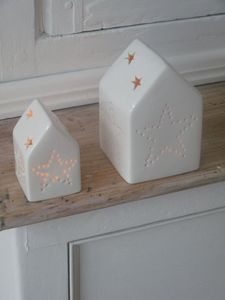 porceleinen huisjes