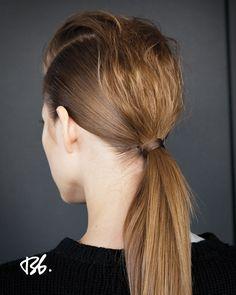 Fall/Winter Fashion Week. Hair by Bb. Stylist Rolando Beauchamp. #fashionweek #fashion #hair #bumbleandbumble #style