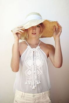 Summer Neutrals  #anthropologie