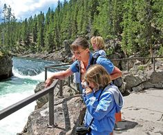 #Yellowstone National Park, #Wyoming http://www.familycircle.com/family-fun/travel/great-adventures-thrill-filled-family-vacations/?page=3# #family #vacation #travel