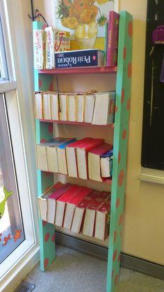 My new classroom bookshelf:)