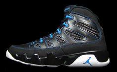 Air Jordan 9 Black/Photo Blue