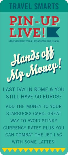 #PinUpLive - Travel Smarts - Hands off my money!
