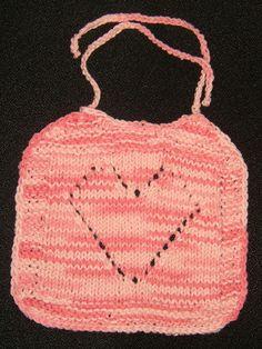 Baby Love Bib (Free Pattern)