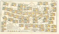 A Data-Packed Map of American Immigration in 1903.