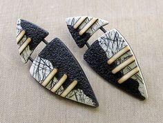 Shield Earrings - Bettina Welker