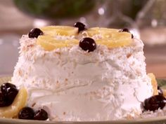 Sandra Lee Recipes   Ambrosia Cake Recipe : Sandra Lee : Recipes : Food Network