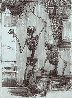 Drunken Skeletons