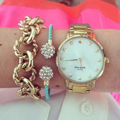 bracelet, arm party, accessori, michael kors watch, little black dresses, turquoise jewelry, kate spade, arm candies, men watches