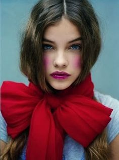 Portrait- Red Bow