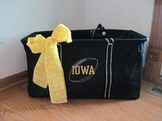 Thirty One lg utility tote. Go Iowa Hawks