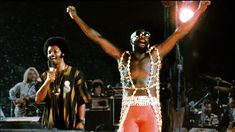 Isaac Hayes at WattStax. Isaac was such a kind and gentle soul.  He's very much missed at Stax.